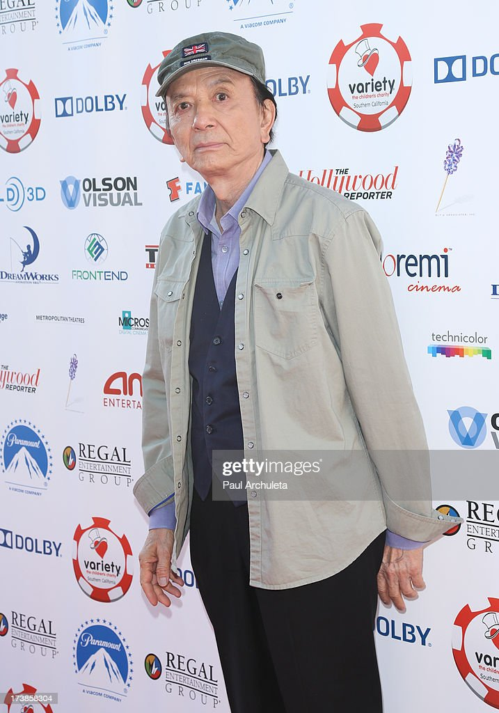 Actor James Hong attends the 3rd annual Variety Charity Texas Hold 'Em Tournament & Casino Game at Paramount Studios on July 17, 2013 in Hollywood, California.