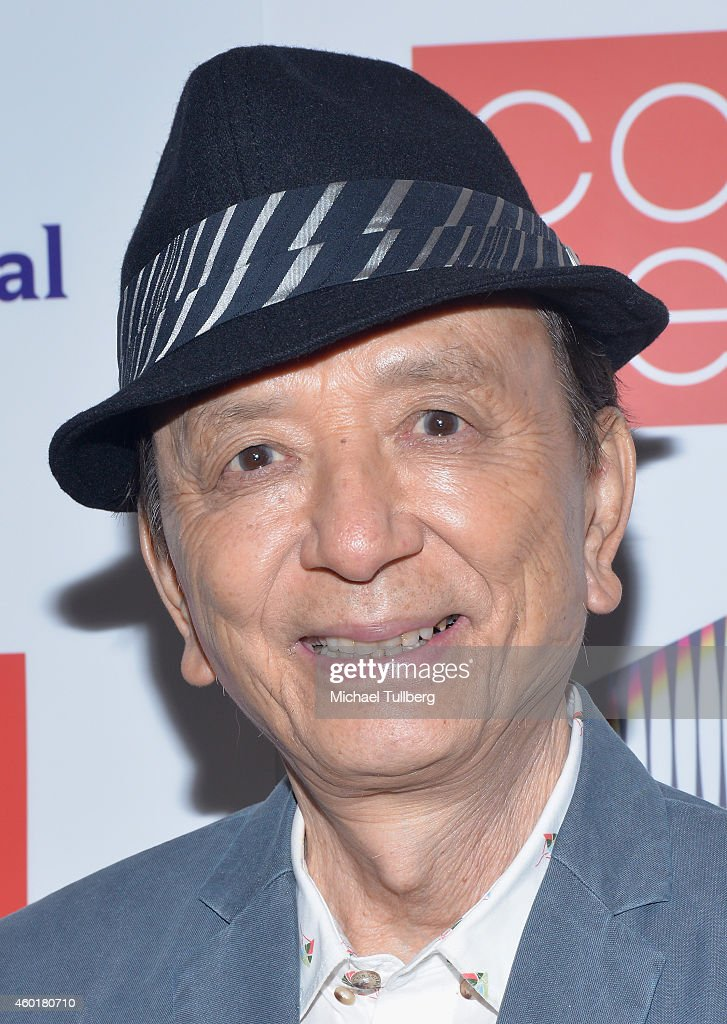 Actor James Hong attends the CAPE Holiday Party at El Rey Theatre on December 8 2014 in Los Angeles California