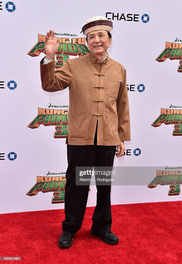 Actor James Hong attends the premiere of DreamWorks Animation and Twentieth Century Fox's 'Kung Fu Panda 3' at TCL Chinese Theatre on January 16 2016...