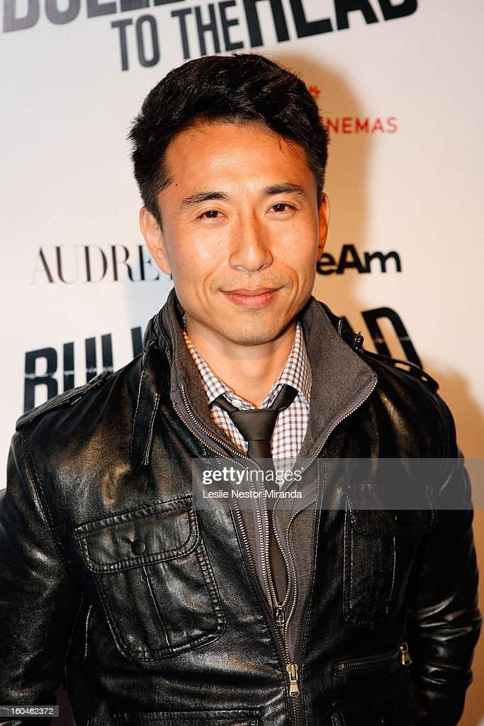 Actor James Kyson attends 'Bullet To The Head' screening at CGV Cinemas on January 31, 2013 in Los Angeles, California.