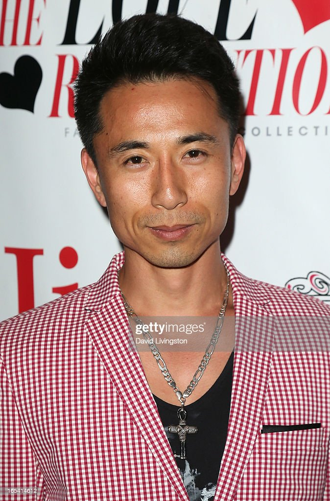 Actor James Kyson attends iiJin's Fall/Winter 2013 'The Love Revolution' fashion show at Avalon on April 3, 2013 in Hollywood, California.