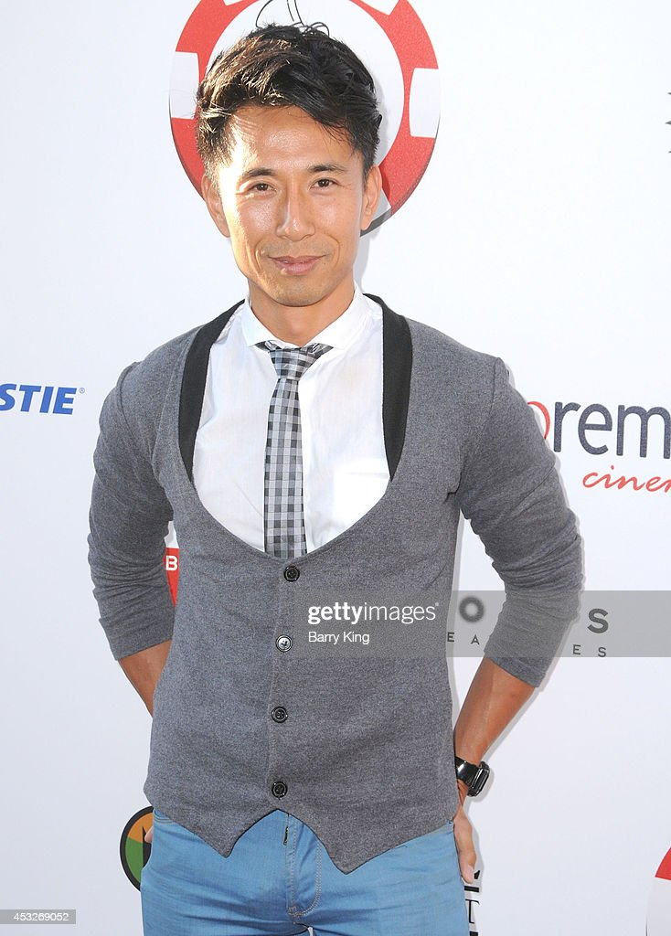 Actor James Kyson attends the 4th annual Variety's Texas Hold 'Em poker tournament to benefit 'The Children's Charity Of Southern California' at Paramount Studios on July 16, 2014 in Hollywood, California.