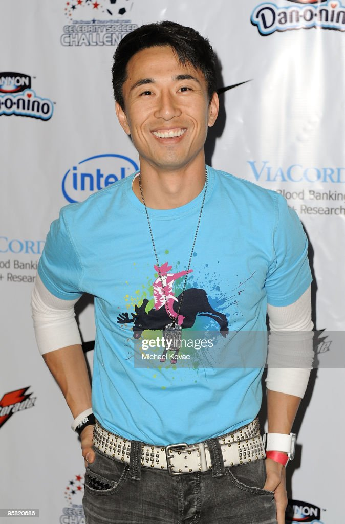 Actor James Kyson Lee arrives at the 3rd Annual Mia Hamm Nomar Garciaparra Celebrity Soccer Challenge at The Home Depot Center on January 16 2010 in...