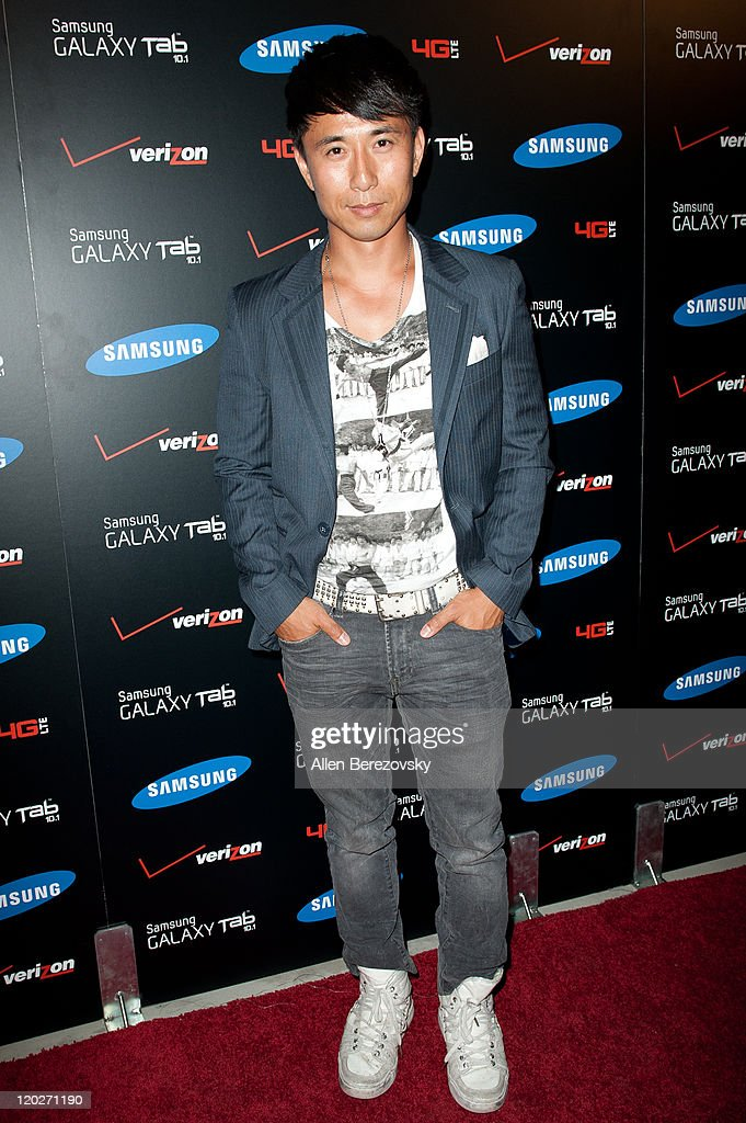 Actor James Kyson Lee arrives at the Samsung Galaxy Tab 101 launch party at The Beverly on August 2 2011 in Los Angeles California