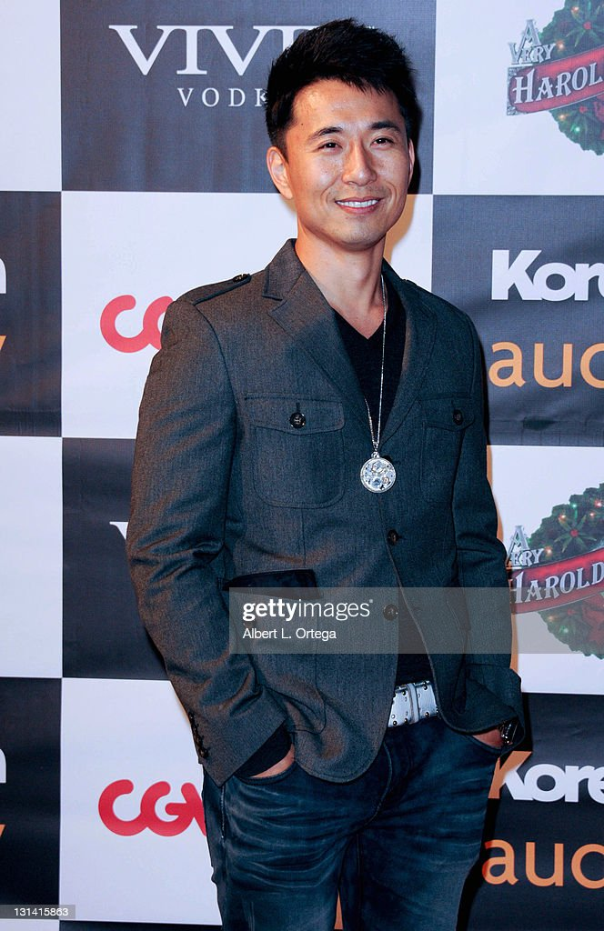 Actor James Kyson Lee arrives for a Screening Of New Line Cinema's 'A Very Harold Kumar 3D Christmas' hosted by KoreAm and Audrey Magazine held at...