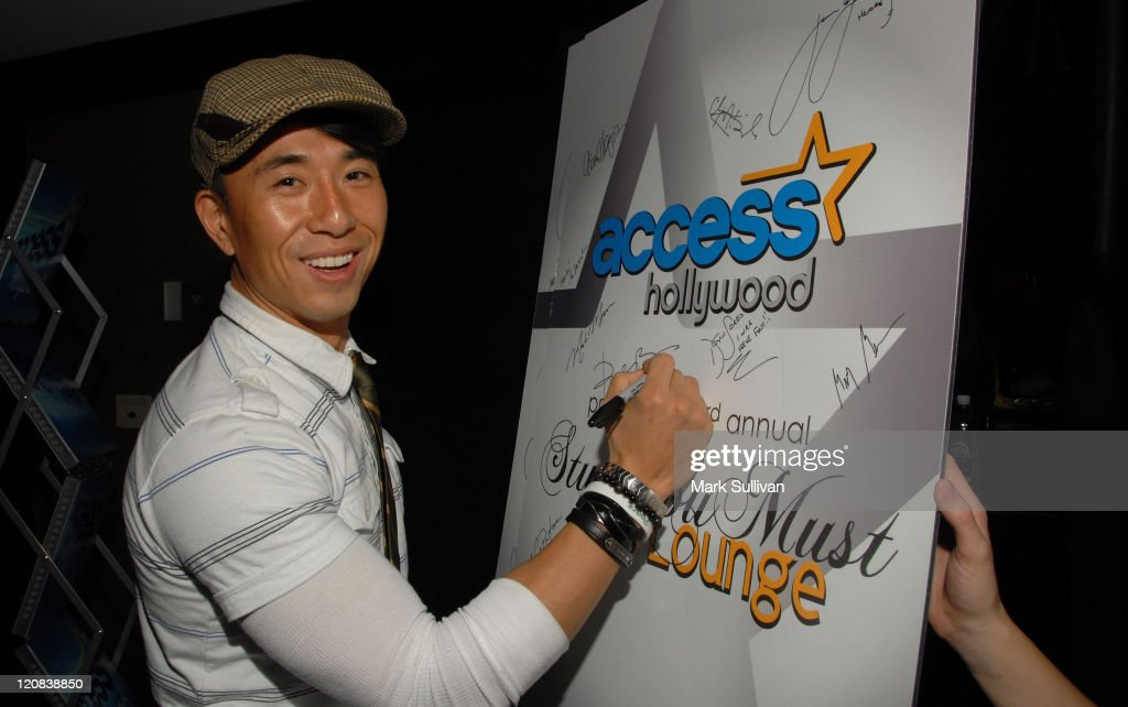 Actor James Kyson Lee attends the Access Hollywood 'Stuff You Must' Lounge produced by On 3 Productions held at Sofitel LA on January 9 2009 in Los...