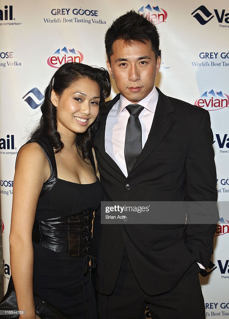 Actor James Kyson Lee of 'Heroes' with guest at the 'Vail Hold'Em Poker Event for Your Cause' hosted by Mario Lopez on October 16 at The Altman...