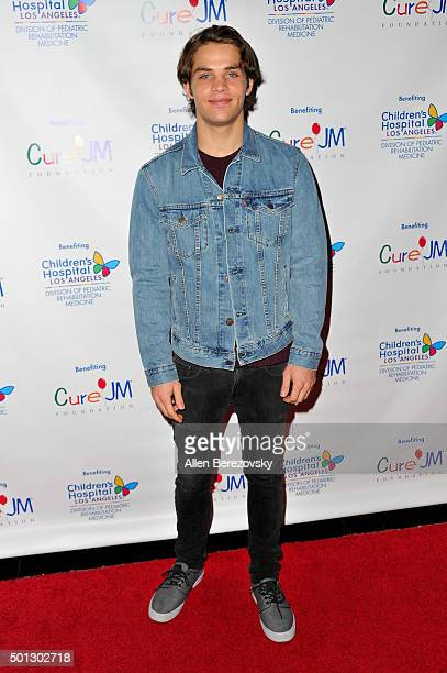 Actor James Lastovic attends the 12th Annual Holiday Toy Drive hosted by CURE JM benefiting Children's Hospital Of Los Angeles at Avalon on December...