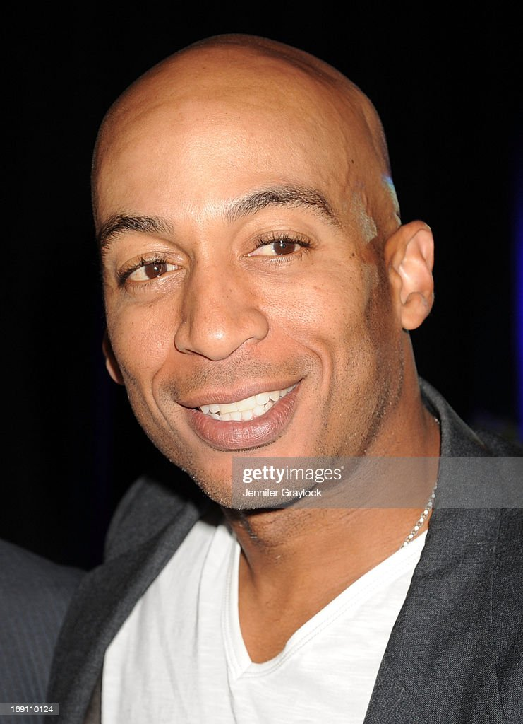 Actor James Leisure attends the 2013 TNT/TBS Upfront presentation at Hammerstein Ballroom on May 15, 2013 in New York City.