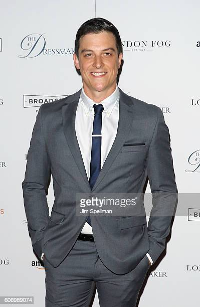 Actor James Mackay attends the 'The Dressmaker' New York screening at Florence Gould Hall Theater on September 16 2016 in New York City