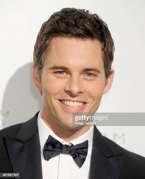 Actor James Marsden arrives at The Art of Elysium's 7th Annual HEAVEN Gala at the Guerin Pavilion at the Skirball Cultural Center on January 11 2014...