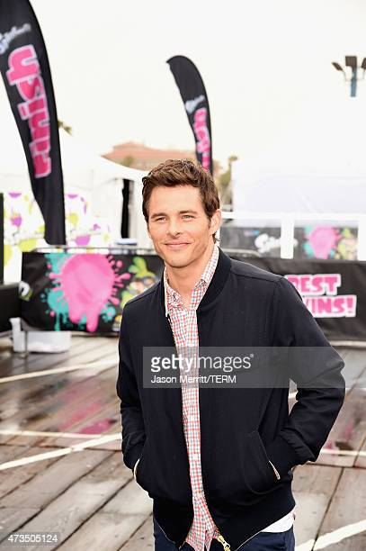 Actor James Marsden attends Celebrity Nintendo Splatoon Mess Fest on May 15 2015 in Santa Monica California