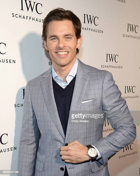 Actor James Marsden attends IWC Schaffhausen Rodeo Drive Flagship Boutique Opening on December 1 2015 in Beverly Hills California