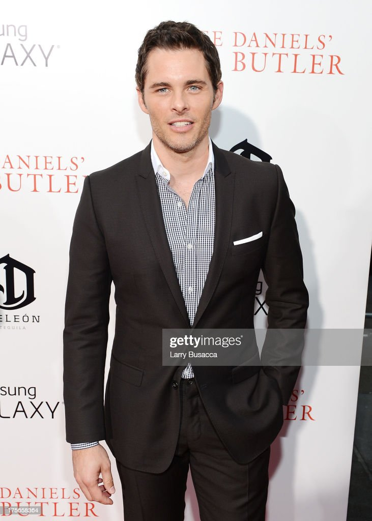 Actor <a gi-track='captionPersonalityLinkClicked' href=/galleries/search?phrase=James+Marsden&family=editorial&specificpeople=206902 ng-click='$event.stopPropagation()'>James Marsden</a> attends Lee Daniels' 'The Butler' New York Premiere, hosted by TWC, Samsung Galaxy and DeLeon Tequila on August 5, 2013 in New York City.