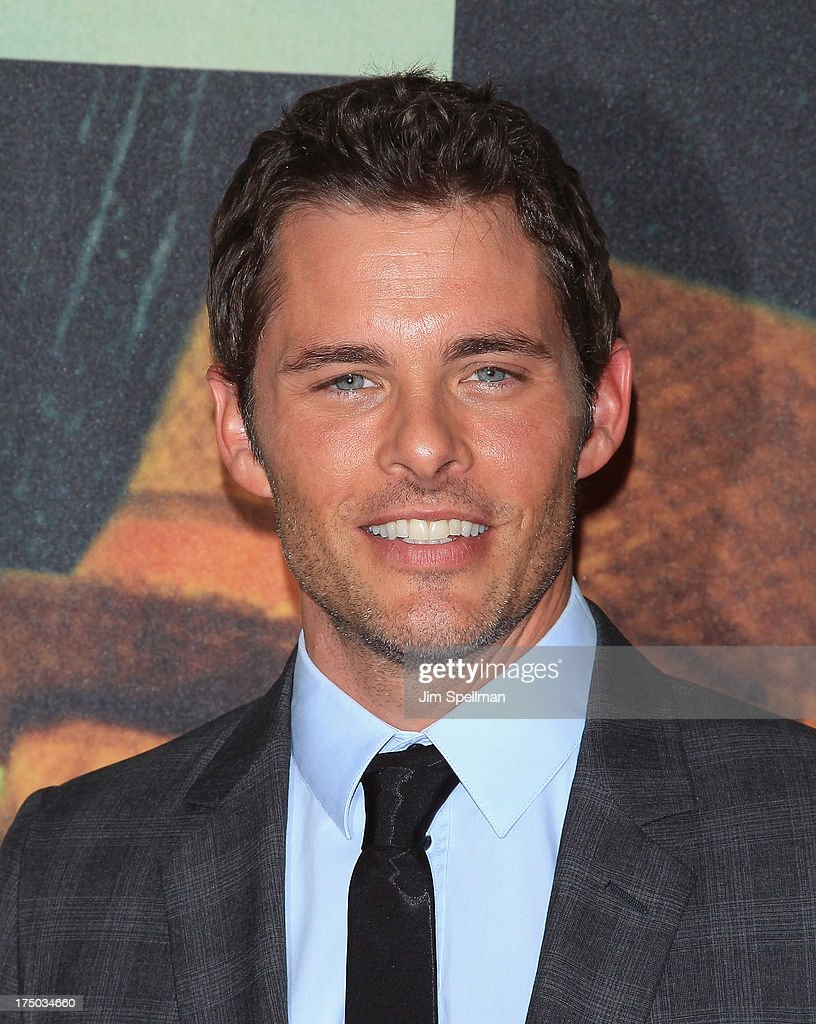 Actor James Marsden attends the '2 Guns' New York Premiere at SVA Theater on July 29, 2013 in New York City.