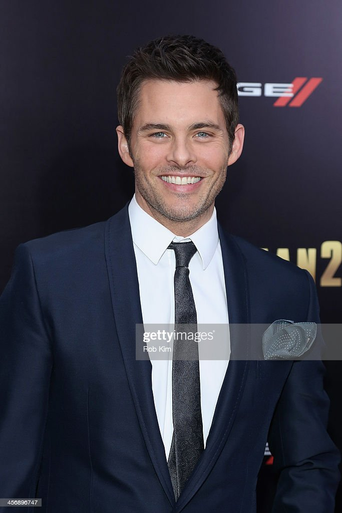 Actor <a gi-track='captionPersonalityLinkClicked' href=/galleries/search?phrase=James+Marsden&family=editorial&specificpeople=206902 ng-click='$event.stopPropagation()'>James Marsden</a> attends the 'Anchorman 2: The Legend Continues' U.S. premiere at Beacon Theatre on December 15, 2013 in New York City.