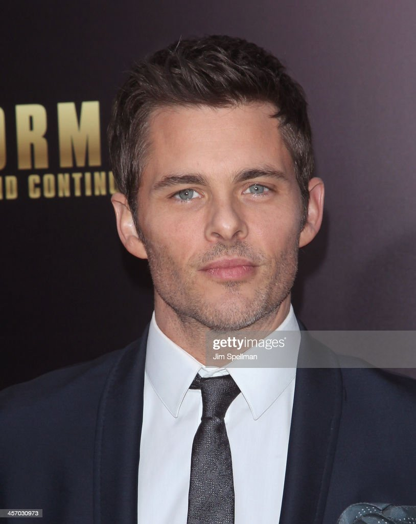 Actor James Marsden attends the 'Anchorman 2: The Legend Continues' U.S. premiere at Beacon Theatre on December 15, 2013 in New York City.