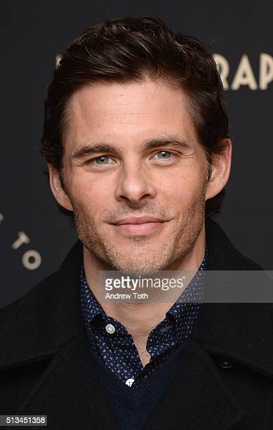 Actor James Marsden attends the Metrograph opening night at Metrograph on March 2 2016 in New York City