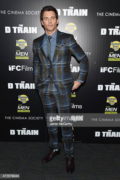 Actor James Marsden attends the New York premiere of IFC Films' 'The D Train' hosted by The Cinema Society Banana Boat at Landmark's Sunshine Cinema...