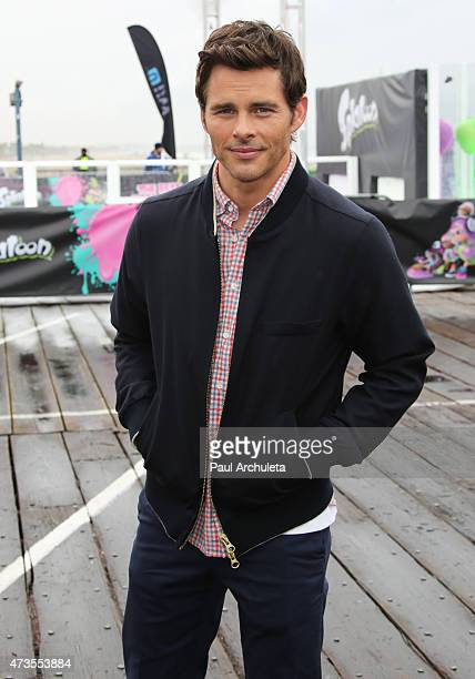 Actor James Marsden attends the Nintendo 'Splatoon' launch party at Santa Monica Pier on May 15 2015 in Santa Monica California