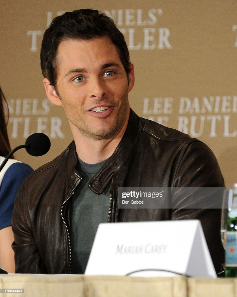 Actor James Marsden attends the press conference for The Weinstein Company's LEE DANIELS' THE BUTLER at Waldorf Astoria Hotel on August 5, 2013 in New York City.