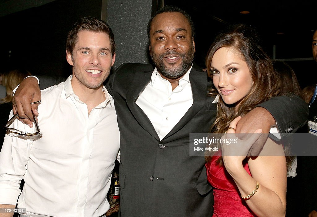Actor James Marsden, director Lee Daniels and actress Minka Kelly attend the after party for LEE DANIELS' THE BUTLER Los Angeles premiere, hosted by TWC, Budweiser and FIJI Water, Purity Vodka and Stack Wines, held at the Ritz-Carlton on August 12, 2013 in Los Angeles, California.