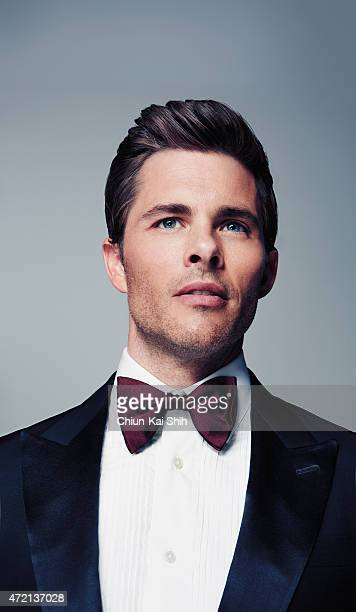 Actor James Marsden is photographed for GQ Style Taiwan on March 6 2015 in Los Angeles California COVER IMAGE