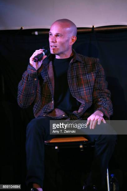 Actor James Marshall answers questions on stage during the Twin Peaks UK Festival 2017 at Hornsey Town Hall Arts Centre on October 8 2017 in London...