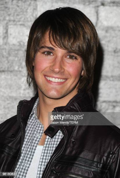 Actor James Maslow arrives at Star Magazine's Young Hollywood Issue launch party held at Voyeur on March 31 2010 in West Hollywood California
