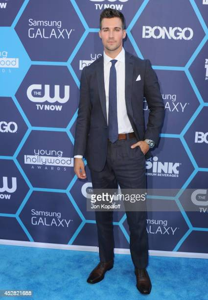 Actor James Maslow arrives at the 16th Annual Young Hollywood Awards at The Wiltern on July 27 2014 in Los Angeles California
