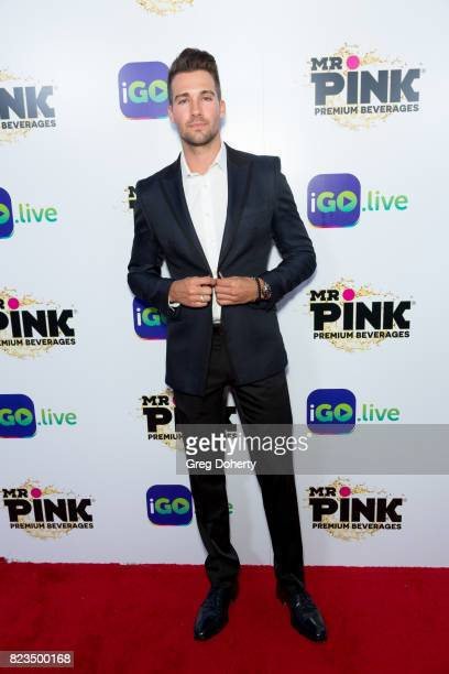 Actor James Maslow arrives for the iGolive Launch Event at the Beverly Wilshire Four Seasons Hotel on July 26 2017 in Beverly Hills California