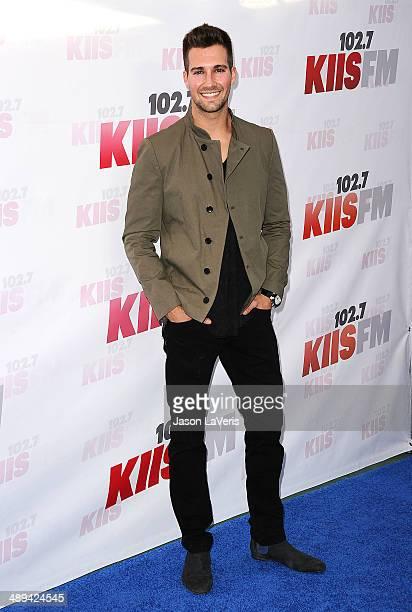 Actor James Maslow attends 1027 KIIS FM's 2014 Wango Tango at StubHub Center on May 10 2014 in Los Angeles California