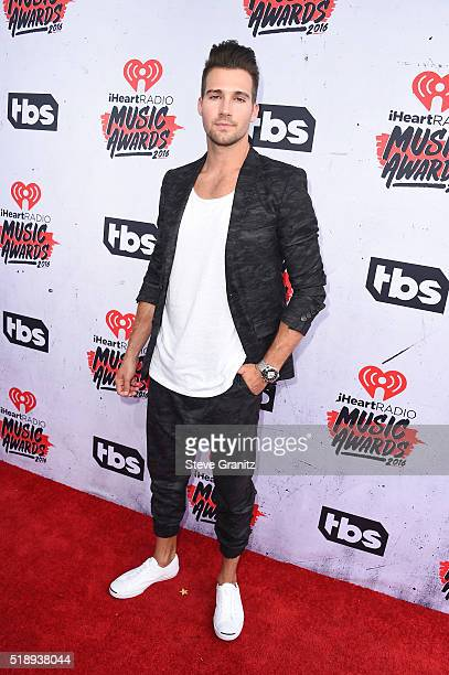 Actor James Maslow attends the iHeartRadio Music Awards at The Forum on April 3 2016 in Inglewood California