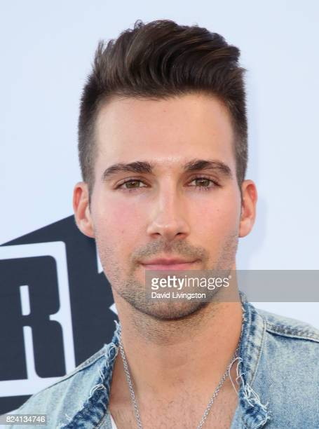 Actor James Maslow attends the Swisher Sweet Artist Project party honoring Chanel West Coast at the London West Hollywood on July 28 2017 in West...