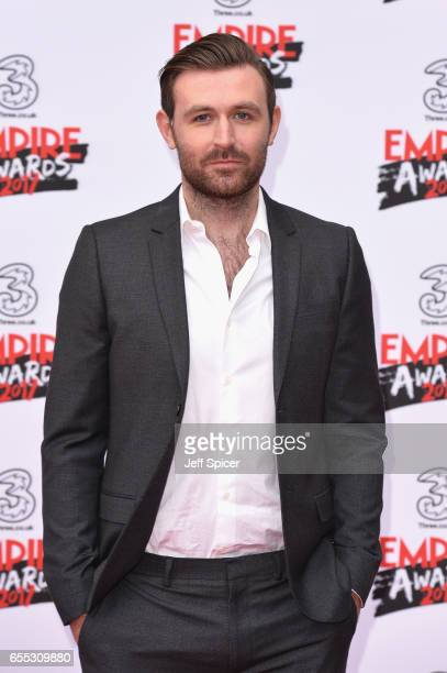 Actor James McArdle attends the THREE Empire awards at The Roundhouse on March 19 2017 in London England