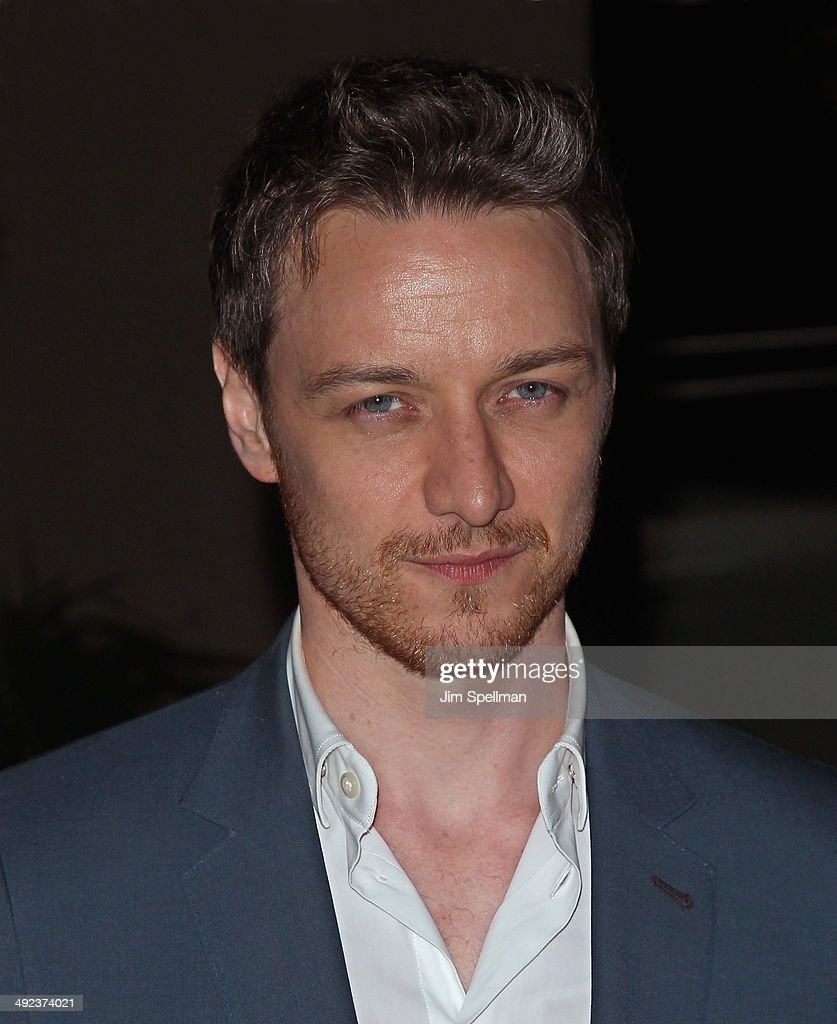 Actor <a gi-track='captionPersonalityLinkClicked' href=/galleries/search?phrase=James+McAvoy&family=editorial&specificpeople=647005 ng-click='$event.stopPropagation()'>James McAvoy</a> attends Magnolia Pictures with The Cinema Society screening of 'Filth' after party at Jimmy At The James Hotel on May 19, 2014 in New York City.