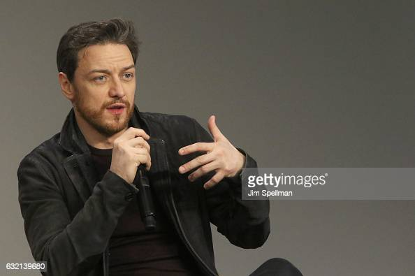 Actor James McAvoy attends Meet the Actor to discuss 'Split' at Apple Store Soho on January 19 2017 in New York City