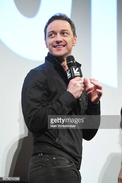 Actor James McAvoy attends the 'Atomic Blonde' premiere 2017 SXSW Conference and Festivals on March 12 2017 in Austin Texas