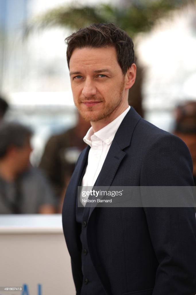 Actor <a gi-track='captionPersonalityLinkClicked' href=/galleries/search?phrase=James+McAvoy&family=editorial&specificpeople=647005 ng-click='$event.stopPropagation()'>James McAvoy</a> attends 'The Disappearance of Eleanor Rigby' photocall at the 67th Annual Cannes Film Festival on May 18, 2014 in Cannes, France.