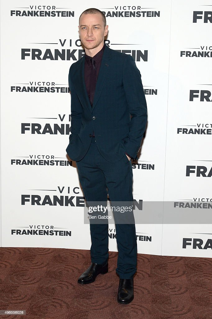 Actor <a gi-track='captionPersonalityLinkClicked' href=/galleries/search?phrase=James+McAvoy&family=editorial&specificpeople=647005 ng-click='$event.stopPropagation()'>James McAvoy</a> attends the New York Premiere of 'Victor Frankenstein' at Chelsea Bow Tie Cinemas on November 10, 2015 in New York City.