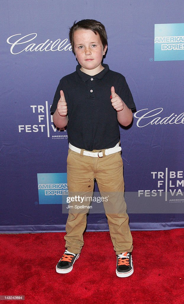 Actor James Napier attends the premiere of 'Whole Lotta Sole' during the 2012 Tribeca Film Festival at BMCC Tribeca PAC on April 21, 2012 in New York City.
