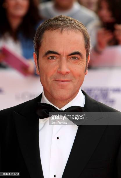 Actor James Nesbitt attends the National Movie Awards 2010 at the Royal Festival Hall on May 26 2010 in London England