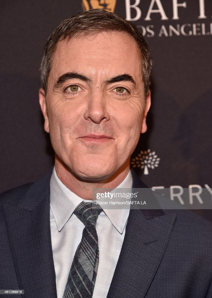 Actor James Nesbitt in Mulberry attends the BAFTA Los Angeles Tea Party at The Four Seasons Hotel Los Angeles At Beverly Hills on January 10, 2015 in Beverly Hills, California.