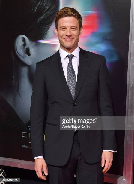Actor James Norton arrives at the premiere of 'Flatliners' at The Theatre at Ace Hotel on September 27 2017 in Los Angeles California