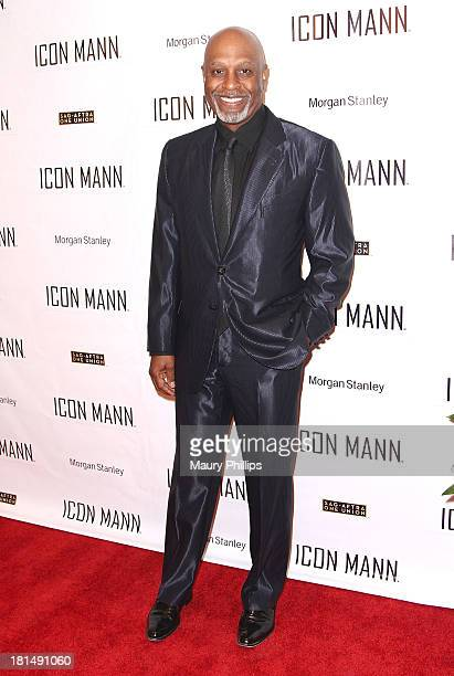 Actor James Pickens Jr arrives at the ICON MANN's Black Men in Entertainment Multimedia PreEmmy Dinner on September 20 2013 in Beverly Hills...