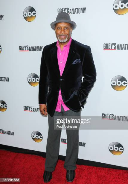 Actor James Pickens Jr attends the 200th episode celebration of 'Grey's Anatomy' at The Colony on September 28 2013 in Los Angeles California