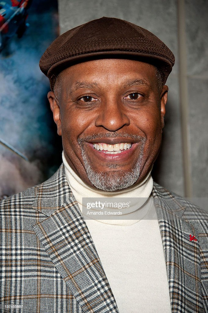 Actor James Pickens Jr attends the 'Red Tails' VIP opening night screening at Rave Baldwin Hills 15 Theatres on January 20 2012 in Los Angeles...