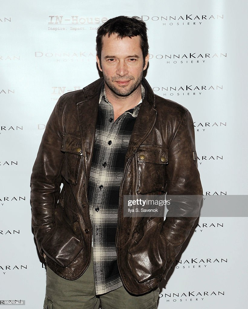 Actor <a gi-track='captionPersonalityLinkClicked' href=/galleries/search?phrase=James+Purefoy&family=editorial&specificpeople=208228 ng-click='$event.stopPropagation()'>James Purefoy</a> attends 'Haven't We Met Before?' New York Premiere at 711 Greenwich Street on February 3, 2013 in New York City.
