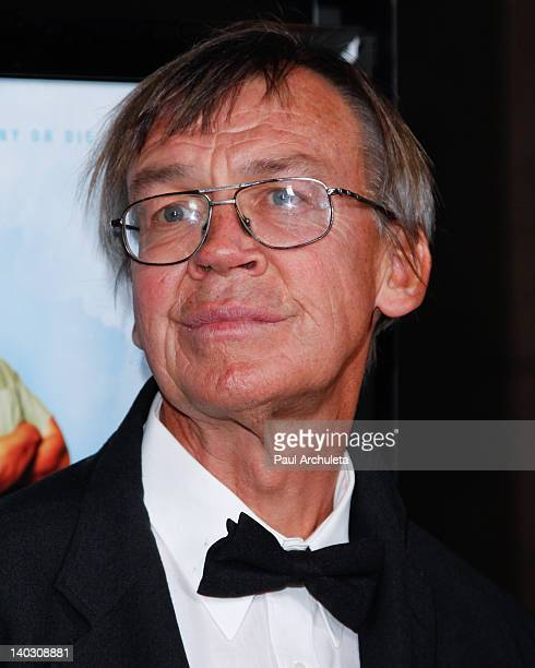 Actor James Quall attends the 'Tim Eric'$ Billion Dollar Movie' Los Angeles premiere at the ArcLight Hollywood on March 1 2012 in Hollywood California