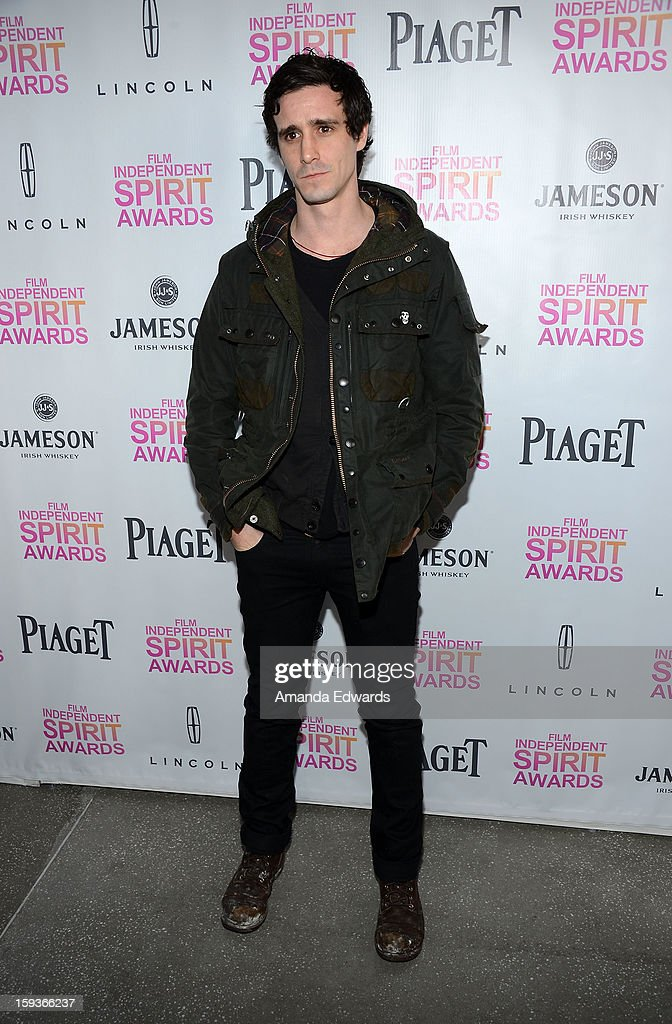 Actor James Ransone arrives at the 2013 Film Independent Filmmaker Grant And Spirit Awards Nominees Brunch at BOA Steakhouse on January 12, 2013 in West Hollywood, California.